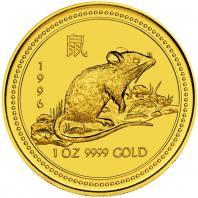 Lunar guldmynt Råttans år